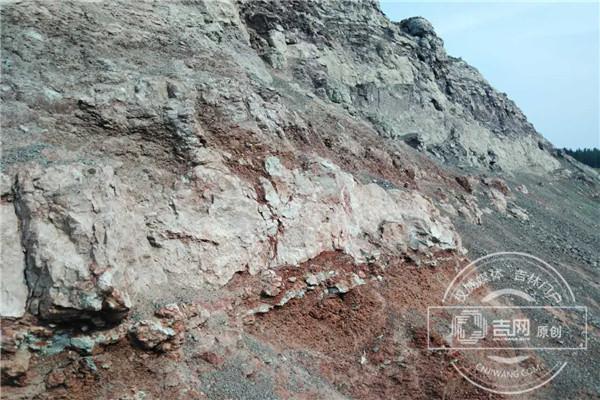 延吉龙山恐龙化石系统发掘正在进行中