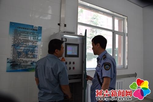 延吉市专项监督检查二次供水卫生情况