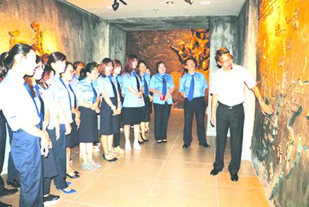 延吉市检察院组织青年干警参观延边博物馆