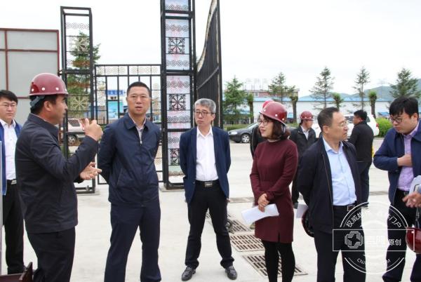 """图们市长赵永浩带队检查 为建筑工地撑起""""平安伞"""""""