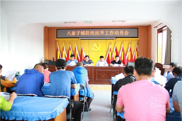 和龙市八家子镇召开防汛抗旱工作会议